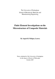 Phd thesis composite material