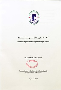 Remote sensing phd thesis