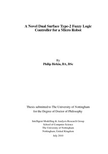 phd thesis in fuzzy logic