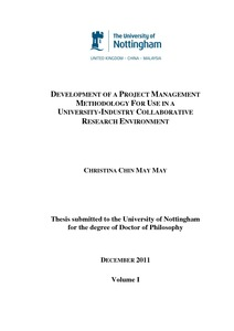 Phd thesis in disaster environment development