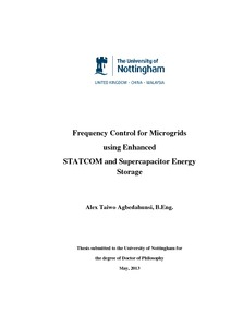 energy storage thesis