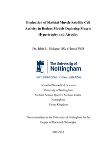 university of nottingham hardbound thesis