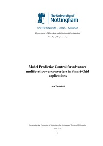 Smart grid phd thesis