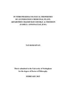Antioxidant thesis pdf