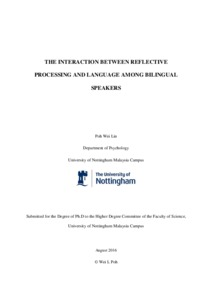 Phd Thesis On Bilingualism Commissioner